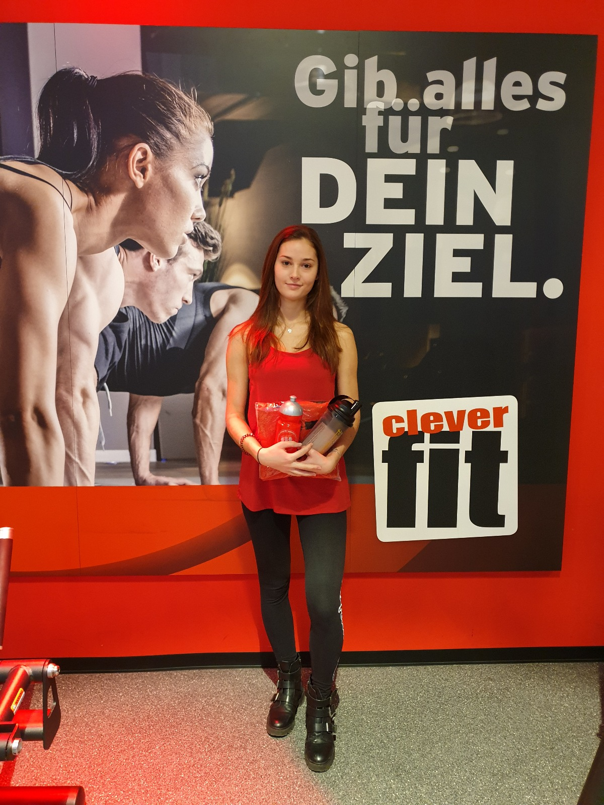 clever fit Oberhaching Mitglied des Monats Dezember
